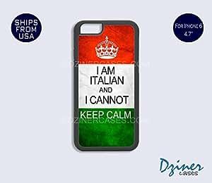 iPhone 6 Case - 4.7 inch model - I Am Italian I cannot Keep Calm iPhone Cover