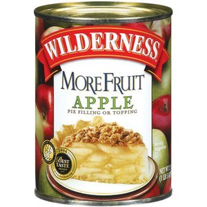 Duncan Hines Pie Filling & Topping, More Fruit, Apple 21 oz (Pack of 12)