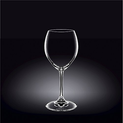 Wilmax 888009 360 ml Wine Glass Set of 644; Pack of 8