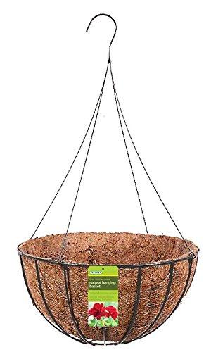 Gardman Wire Grow Baskets, Black, 20'' dia., Pack of 15 by BestNest
