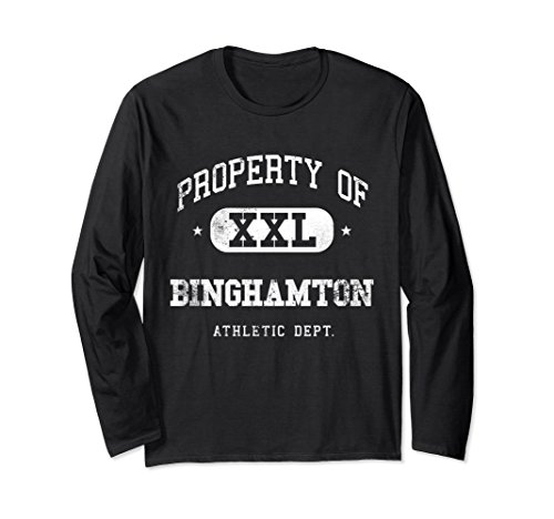 Unisex Binghamton Athletic T-Shirt Gift Idea Medium Black