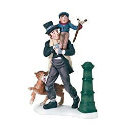 Department 56 Dickens\' A Christmas Carol Bob Cratchit And Tiny Tim