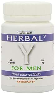 Swiss Health Herbal V Y for Men 550mg , 60 tapas
