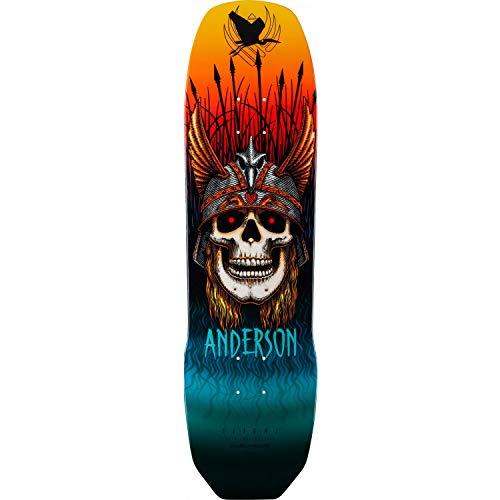 """Powell-Peralta Skateboard Flight Deck (8.45"""" - Andy Heron Skull)"""
