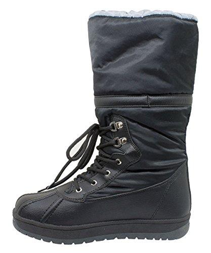 Kefas - Jade 3326 - Bottes de neige Femme Noir xyUK902l6