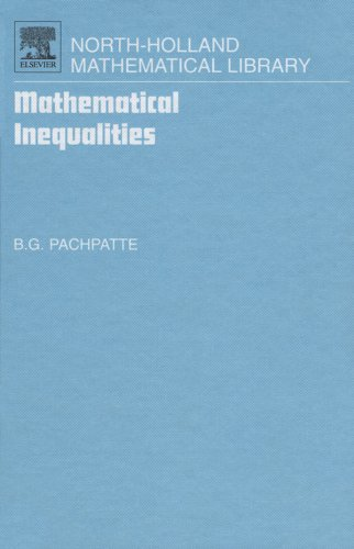 Download Mathematical Inequalities: 67 (North-Holland Mathematical Library) Pdf