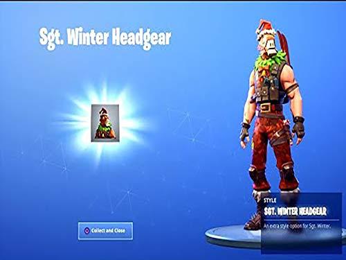 New SGT Winter Reindeer Llama Headgear In Fortnite!