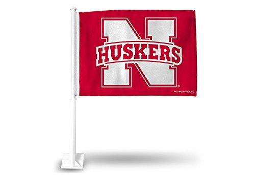 NCAA Nebraska Cornhuskers Car Flag