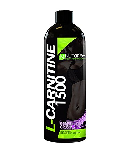 Nutrakey L-Carnitine ovetY - Grape Crush 1500 - One Size