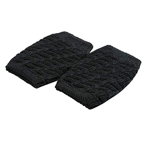 (URIBAKE Women Winter Thermal Soft Socks Knit Crochet Leg Warmers Leggings Slouch)