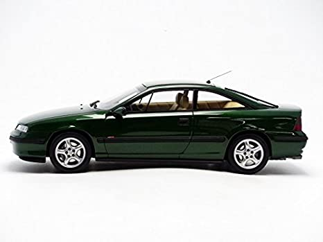 Otto Mobile ot651 - Opel Calibra Turbo 4 x 4 - Escala 1/18 - verde Metal: Amazon.es: Juguetes y juegos