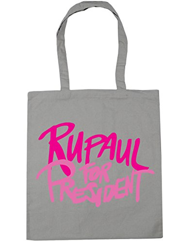Rupaul for Grey HippoWarehouse Tote Bag Light Shopping president x38cm 42cm litres Beach Gym 10 1a55dw