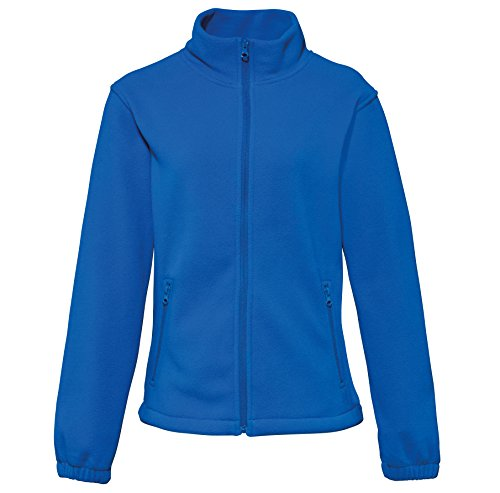 42 royal Femme 2786 Fabricant taille Large 000 Full Fleece Blouson Bleu Women's zip 01Xw0z