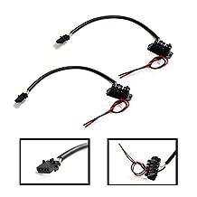 iJDMTOY (2) Power Cord Adapters For Hella 5DV 008 290-00 Headlight HID Unit Igniter Ballast