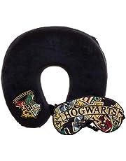 Bioworld Harry Potter Hogwarts Travel Pillow and Sleep Mask