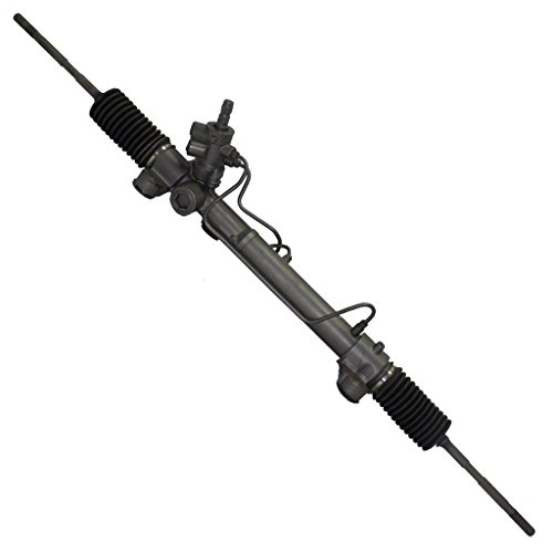 Detroit Axle - Complete Power Steering Rack and Pinion Assembly for 2004-2010 Toyota Sienna