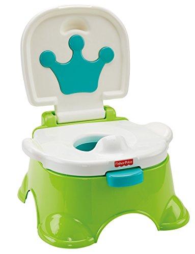 Mattel Fisher-Price DLT00 Lerntöpfchen und Fußbank, grün
