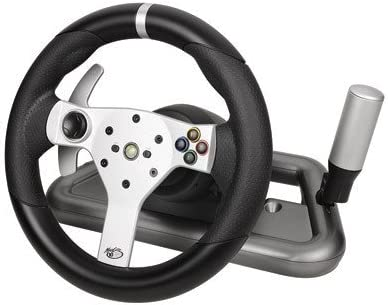 Mad Catz Wireless Force Feedback Wheel for Xbox 360 - Volante ...