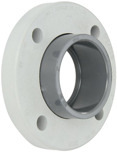 Spears 854-030 Glass-Filled PVC Pipe Fitting, Van Stone Flange, Class 150, Schedule 80, 3