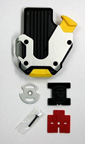 KDS SH-01 Locking Belt Clip for Measuring Tapes, Black/Silver by KDS (Image #4)