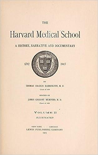 Vapaa lataaminen kirjoja Kindle The Harvard Medical School; A History, Narrative and Documentary. 1782-1905 by Harrington Thomas Francis (2015-01-01) Hardcover PDF FB2