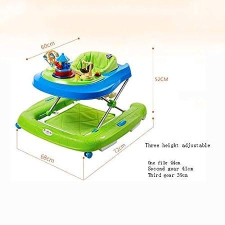 Infantil 6-18 meses U Tipo Trolley Walker Multifunción Cuatro ...