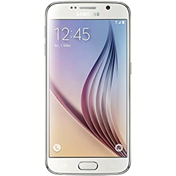 Samsung Galaxy S6 G920F 32GB Unlocked GSM 4G LTE Octa-Core Smartphone - White Pearl no warranty  INTERNATIONAL VERSION NO WARRANTY