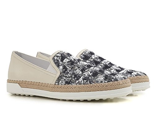 Tods Damen Xxw0tv0j970g450zs0 Multicolore Leder Slip On Sneakers