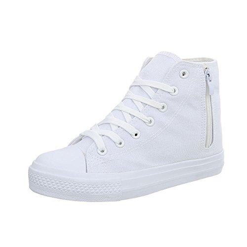 672 Ital Blanc Rl design Baskets High Plat Mode Femme Espadrilles Chaussures Sneakers SPxwZrqS1