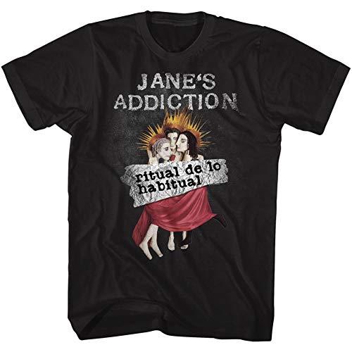 American Classics Janes Addiction Ritual De Lo Habitual Black Adult T-Shirt Tee (XX-Large)