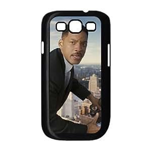 Men In Black Iii 8 funda Samsung Galaxy S3 9300 caja funda del teléfono celular del teléfono celular negro cubierta de la caja funda EEECBCAAL05647