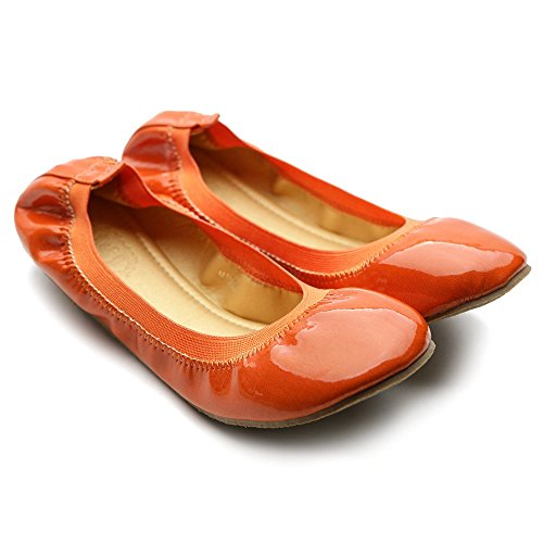 Brown Accent Ballet Women's Color Ollio Flower Shoe Flat Multi Cute BaRzq