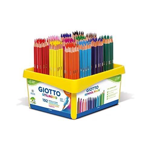 chollos oferta descuentos barato Giotto 5234 00 192 Stilnovo clasificaba cuadro de colores escuela Modelos colores Surtidos 1 Unidad