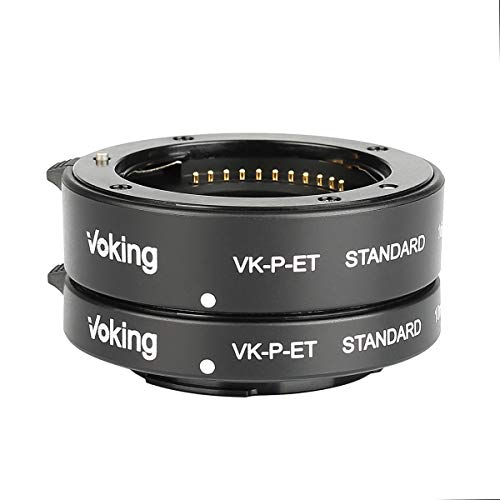 Voking VK-N-ET 10mm+16mm Auto Focus Macro Extension Tube Adapter Ring Kit for Nikon Mirrorless 1 Mount Cameras J1 J2 J3 V1 V2 V3