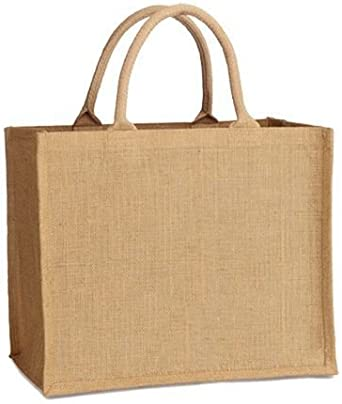 3 x Jute Hessian Medium Bags