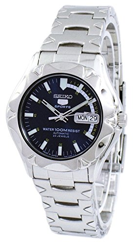 Seiko 5 Sports #SNZ447J1 Men's Stainless Steel Blue Dial 100M Automatic Watch