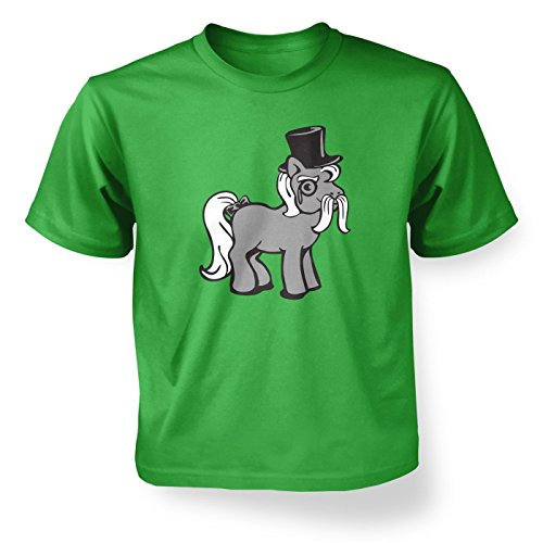 Top Hat Pony ' Kids T-shirt - Irish Green S (5-6) ()