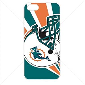 NFL American football Miami Dolphins Fans Case For Samsung Galaxy S5 Cover PC Soft (White)