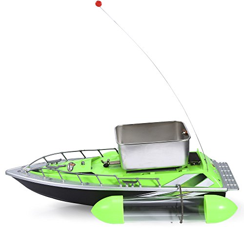 Trout Pool Table (YOOYOO Mini RC Wireless 200M Fishing Lure Bait Boat for Finding Fish)