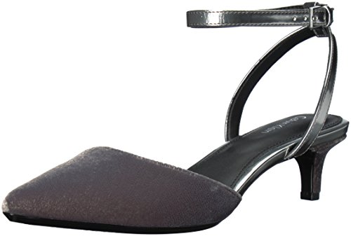 Calvin Klein Women's Gogo Pump Slate/Dark Silver cheap sale new arrival outlet supply discount low shipping fee really cheap ZqUOntBWBq