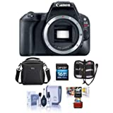 Canon EOS Rebel SL2 DSLR Body - Bundle Camera Bag, 16GB SDHC Card, Cleaning Kit, Memory Wallet, Mac Software Package