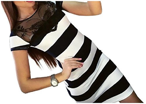 Mesh Sexy Splice Lace Bodycon Short Floral Stripes Coolred Dress As1 Soft Chic Women Printed Sleeve pIRqTx5nZ