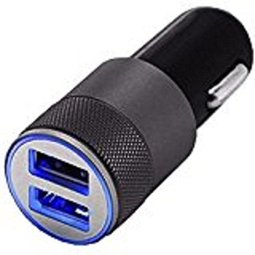 Mchoice Mini Dual USB Twin Port 12V Universal In Car Lighter Socket Charger Adapter Plug