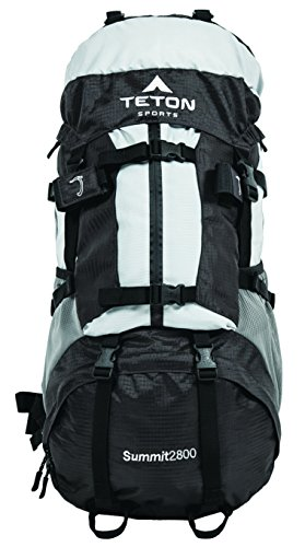 Teton Sports Summit 2800 Ultralight Backpack; High-Performance Pack; Lightweight, Durable Hiking Backpack for Camping, Hunting, and Travel; Don't Settle for the Basics; Sewn-in Rain Cover by Teton Sports