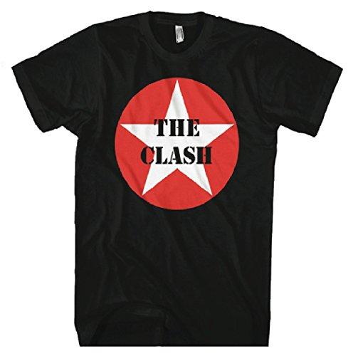 The Clash- Star Logo T-Shirt Size XXL (Clash Band)