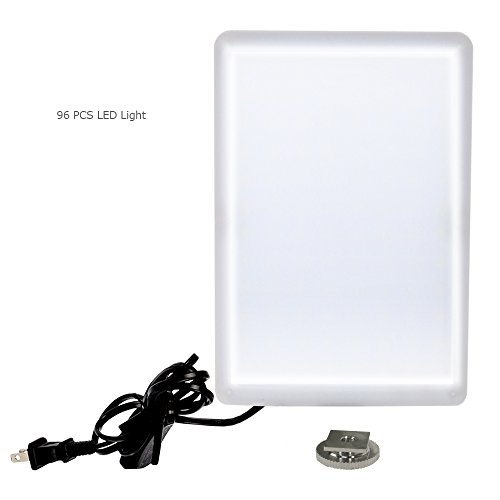 LimoStudio LED Light Panel with Gooseneck Extension Adapter, Mini Table Top Light Stand, White Seamless Studio Matte Cyclorama Module Background, Photo Video Lighting Kit, Photography Studio, AGG2210 by LimoStudio (Image #2)