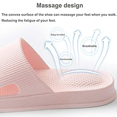 Women and Men Bath Slipper Anti-Slip for Indoor Home House Sandal