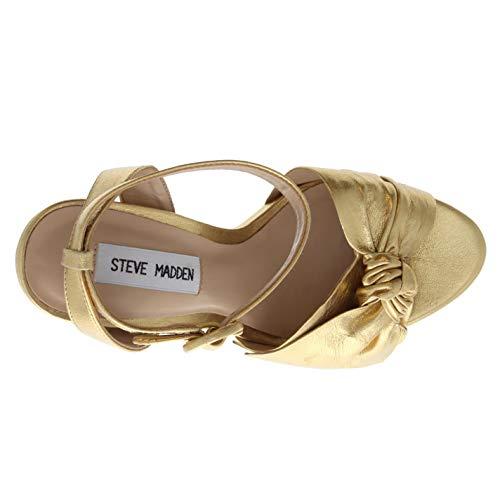 3 Platform Sandals Steve Breena 2 40 Madden Oro Donna O18qwaF8