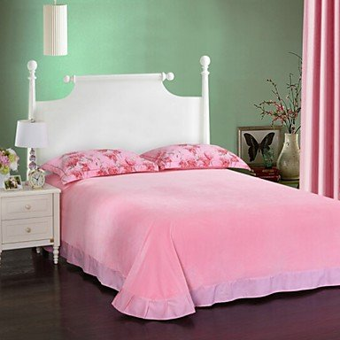 DB&PEISHI Flower Poly/Cotton Poly/Cotton , light pink , queen