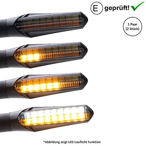 Led-knipperlicht + dagrijverlichting compatibel met Yamaha Tracer 900, 900GT, 700 / Yamaha XV 500, 650 (E-gekeurd / 2…